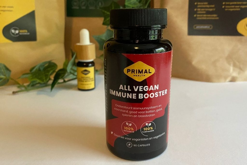 Gezonde leefstijl - all vegan immune booster